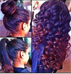 Love the versatility and the ombre!