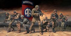 Paratroopers Answering the Call