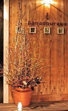 クリスマスツリー/鈴バラ/クリスマス/http://www.hanadouraku.com/flower/christmas/