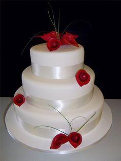 Gum Paste Calla Lily Cake Kit Gumpaste Wedding by gumpasteplace, $29.99