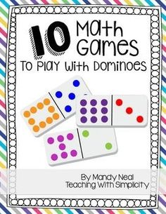 10 Math Games to Play with Dominoes