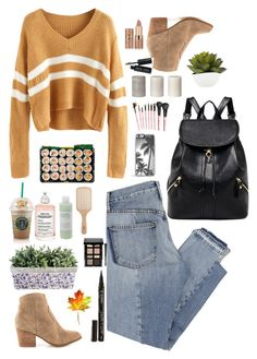 """Autumn"" by maria143sara ❤ liked on Polyvore featuring Mix Nouveau, ALDO, Philip Kingsley, Bobbi Brown Cosmetics, tarte, Smith & Cult, Maison Margiela, Mario Badescu Skin Care and Zero Gravity"