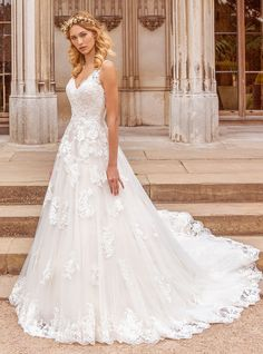 Discover our full collection of ball gowns, fish tail, A-line and sheath dresses and fall in love with your perfect wedding dress. Find your nearest stockist today! Bridal Wedding Dresses, Designer Wedding Dresses, Purple Wedding, Dream Wedding, Bridal Collection, Dress Collection, Ellis Bridal, Fit N Flare Dress, Perfect Wedding Dress