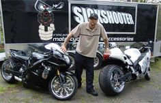 For the best in Sportbikes and motorcycle parts and accessories go to www.SickShooter.com