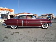 1953 Cadillac Series 62 Four Door Sedan