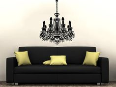 Hey, I found this really awesome Etsy listing at https://www.etsy.com/listing/249718331/chandelier-wall-decal-vinyl-sticker