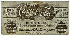 Coca Cola Vintage, Coca Cola Drink, Coca Cola Ad, Vintage Typography, Typography Letters, Lettering, Coca Cola Wallpaper, Coca Cola Pictures, Travel
