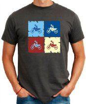 Motocross Pop art T-Shirt