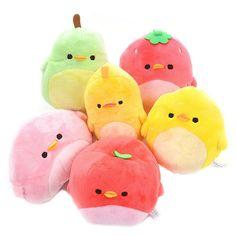 Piyo Fruits Standard Plush Collection 1 Kawaii Plush, Cute Plush, Softies, Tatty Teddy, Häkelanleitung Baby, Kawaii Room, Cute Stuffed Animals, Squishies, Cute Toys