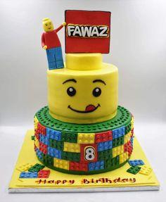 60+ Ideias Criativas de Bolo Lego para se Inspirar #BoloLego #Bolo #Lego #BoloDecorado #FestaLego #LegoCake Bolo Lego, Cake, Baking, Design, Cake Ideas, Diy Home, Decorating Cakes, Diy Creative Ideas, Fiestas
