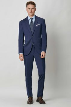 Mayfair Slim Fit Solid Travel Suit