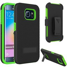 VAKOO For Samsung Galaxy S6 Edge Belt Clip Pouch Case Shockproof Drop Proof Heavy Duty Case Rugged Soft Silicone Dual Layer Holster Armor Cover with Kickstand and Locking Belt Swivel Clip for Samsung Galaxy S 6 Edge S VI GREEN Vakoo http://www.amazon.com/dp/B00XYICVDY/ref=cm_sw_r_pi_dp_HKpEvb1VWW1F6