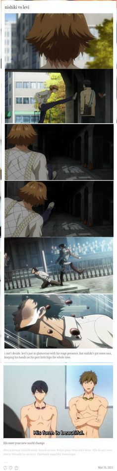 who kicked it better? sorry i'm not sorry tokyo ghoul attack on titan but seriously though you have to vote