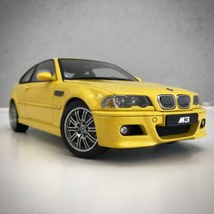 AutoArt E46 BMW M3 - Yellow