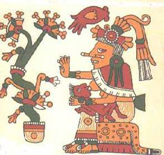 The Aztec goddess Xochiquetzal, associated w/flowers, fertility, love, crafts, female sexual power and beauty.  (Goes by Aphrodite, Venus, Gwenhwyfar and Freya in other mythologies.)