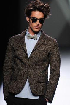 eyegasmgalore: Jon Kortajarena for Devota & Lomba FW 2012 Jon Kortajarena, Sharp Dressed Man, Well Dressed Men, Versace, High Fashion, Mens Fashion, Preppy Fashion, Fashion Trends, Glamour