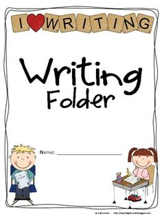 lots of different folder covers to use in class (math, science, social studies, reading, etc...) {freebie}