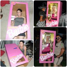 Barbie Halloween costume #DIY #golddiggerbarbie #barbie #halloween