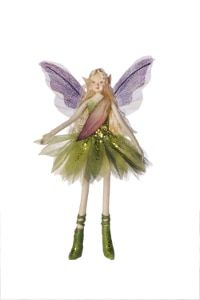 with Wings Tassie Design Turquoise Lavender Handmade RAINBOW Fairy Doll