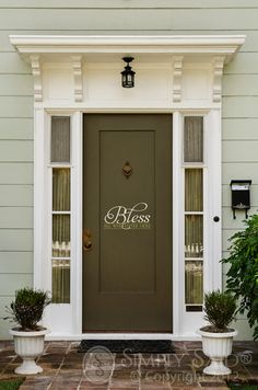 Bless all who enter here. Design by Simply Said  www.mysimplysaiddesigns.com/michellesimms