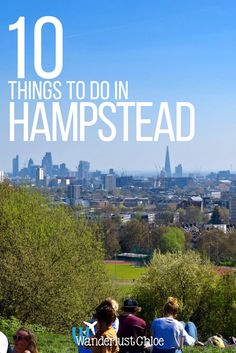 Top 10 Things To Do In Hampstead, London. With a great food market, adorable Instagrammable streets and of course Hampstead Heath, it's easy to see why Hampstead is one of my favourite parts of London. https://www.wanderlustchloe.com/hampstead-london-things-to-do/