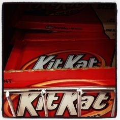 Kit Kat flavors in Japan include wine, sweet potato, wasabi, and soy sauce. #candy