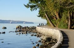 Stanley Park, Vancouver- it is even more beautiful being there than looking at this picture