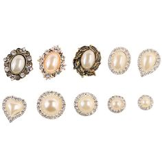 Surker 10PCS DIY Classic Limtation Pearl Hair Accessory HA02020 * You can get additional details at the image link.