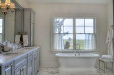 Marla Melnyk, Mary-Bryan Peyer Designs - New Traditional Marshside Interior Design Ideas. Beautiful Master Bath