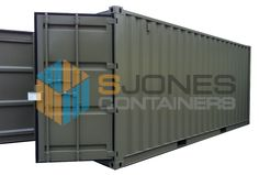 S Jones containers provides new and used shipping containers and storage containers for sale, hire and conversion. 20ft Shipping Container, Used Shipping Containers, Storage Containers For Sale, Metal Containers, Steel Metal, Outdoor Furniture, Outdoor Decor, Home Decor, Steel