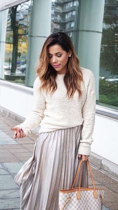 Mixing Textures: Cozy Holiday Look, cute holiday outfit idea, holiday party outfit idea, christmas outfit inspo, thanksgiving outfit inspo