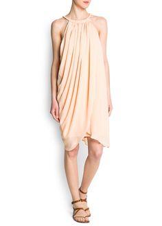 MANGO - Halter neck dress