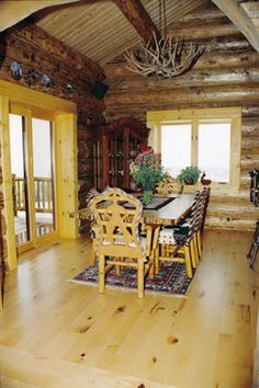 Homestead Flooring - Traditional Wide Plank Flooring For The Classic Country Home - Wide Plank Pine Flooring Pine Flooring, Wide Plank Flooring, Hardwood Types, Lake Houses, Outdoor Furniture, Outdoor Decor, Cabins, Homesteading, Claire
