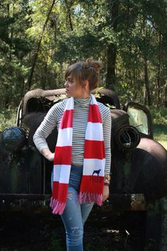 A preppy Southern girl can never have too many scarves. Come get your fall/winter essential at southerngirlprep.com. prep