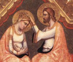 'Baroncelli Polyptych (Detail)', tempera von Giotto Di Bondone (1266-1337, Italy)