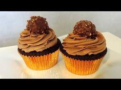 Recette des cupcakes Nutella Ferrero Rocher - William's Kitchen
