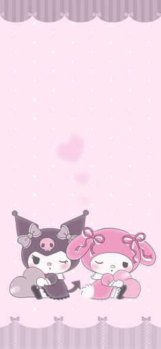 Hello Kitty Iphone Wallpaper, My Melody Wallpaper, Sanrio Wallpaper, Kawaii Wallpaper, Girl Wallpaper, Aesthetic Videos, Cute Wallpapers, Sanrio Characters, Fictional Characters