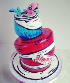 Modernia pyörrettä peliin! #kakku #cake #moderni