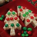 Tree Treats Trimmed with M&M's | Holidays