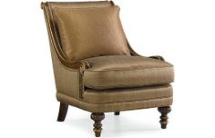 Drexel Heritage Upholstery - Basilia Chair (Dropped Fabric 10189-39)