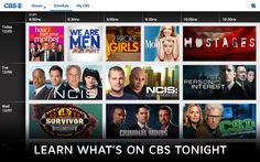 CBS is expanding its reach. The company is releasing its TV streaming app on both Android and Windows 8 platforms, allowing US people to view full-length episodes of network shows such as Crime Scene Investigation, and Star Trek. #Windows #Mobile #Apps