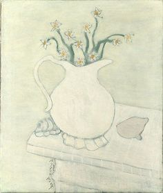 Milton Avery White Pitcher, 1946