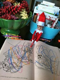 30 Easy and Fun Elf on the Shelf