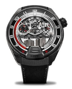 Discover the watch, the new HYT creation that represents the new generation of its skeleton watches. Visit the official HYT website to learn more. Sailing Watch, Men's Sailing, Mens Skeleton Watch, Skeleton Watches, Unusual Watches, Mechanical Watch, Black Rubber, Watch Brands