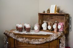 Yes - Hot cocoa bar  |  infiniti foto | CHECK OUT MORE GREAT VINTAGE WEDDING IDEAS AT WEDDINGPINS.NET | #weddings #vintagewedding #weddingvintage #oldweddingphotos #events #forweddings #iloveweddings #romance #vintage #planners #old #ceremonyphotos #weddingphotos #weddingpictures
