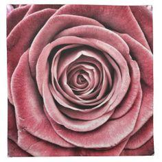 LARGE PINK ROSE NAPKINS