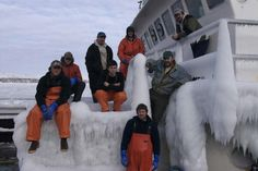 Ice Benches -Deadliest Catch