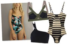 Support System — In sweltering heat, a bra can feel like a vise. But, if you can't go without, consider a one-piece swimsuit with underwire, or a cute, sporty bralette that'll provide support and look cute enough on its own (yes — that means you can feel free to whip your shirt off if the mood strikes!).