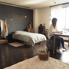 Interior Lighting, Room Interior, Interior Design, Simple Furniture, Small Places, Cozy Room, Awesome Bedrooms, Room Inspiration, Bedroom Decor