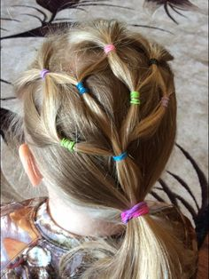 Cute kids hair idea!! Simple yet sophisticated!!